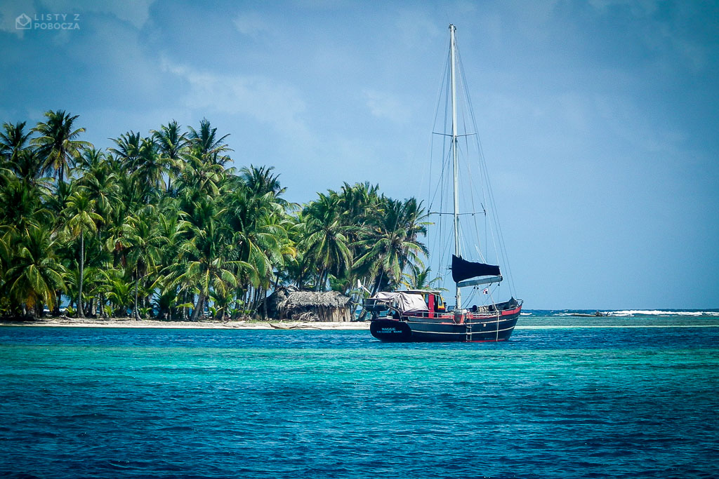 Old sailboat in San Blas