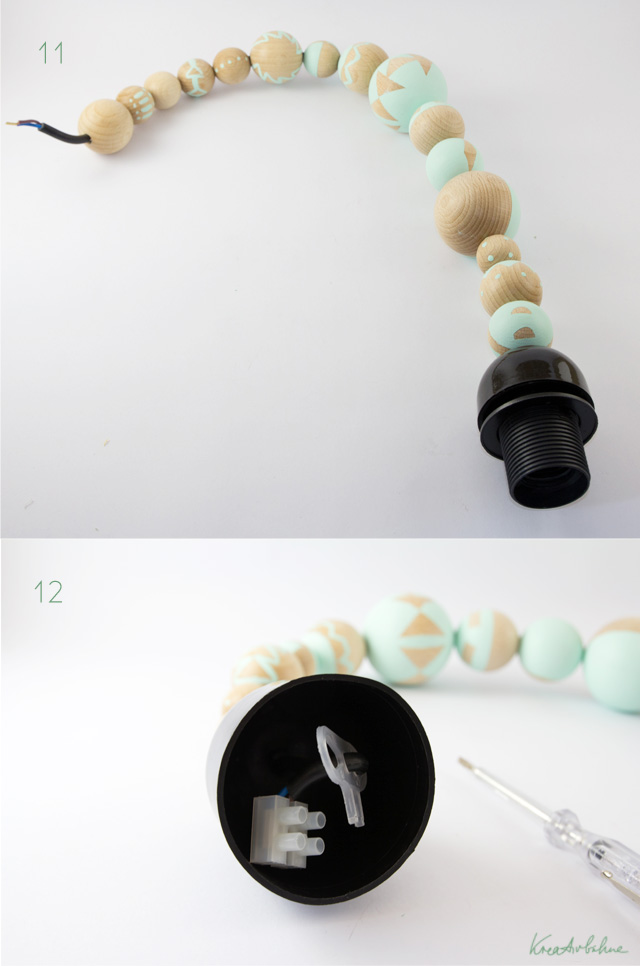DIY Lampe Fassung