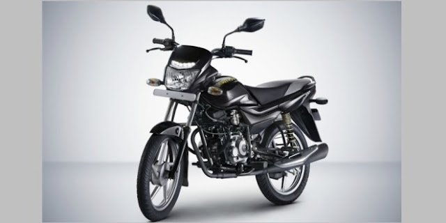 New Bajaj Platina Comfortec 100cc commuter segment bike