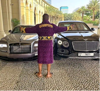 Photo/Video Hushpuppi 'Buys' Himself A Brand New Rolls-Royce Wraith, Just Days After Buying A N74M Bentley Bentayga