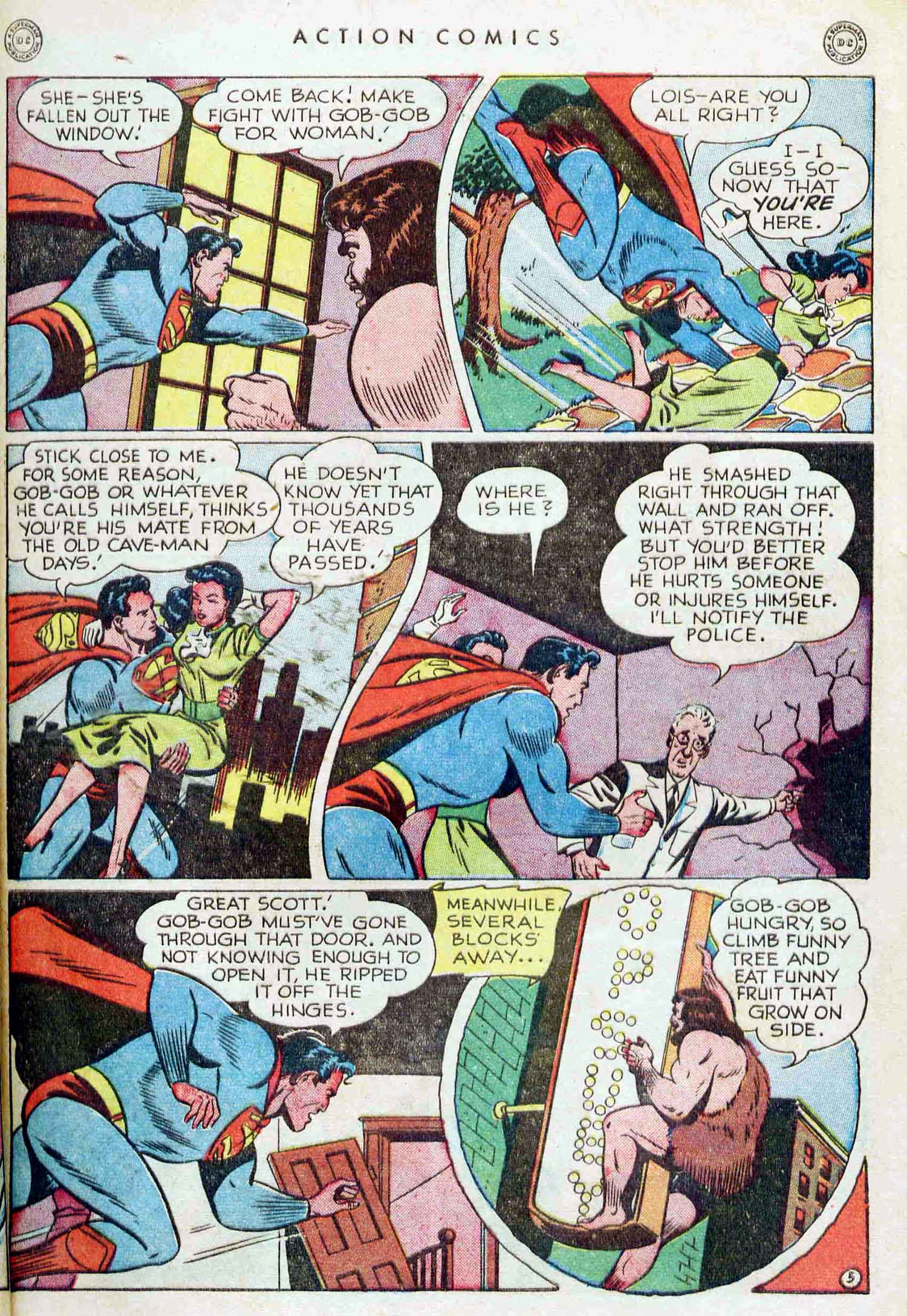 Read online Action Comics (1938) comic -  Issue #129 - 6