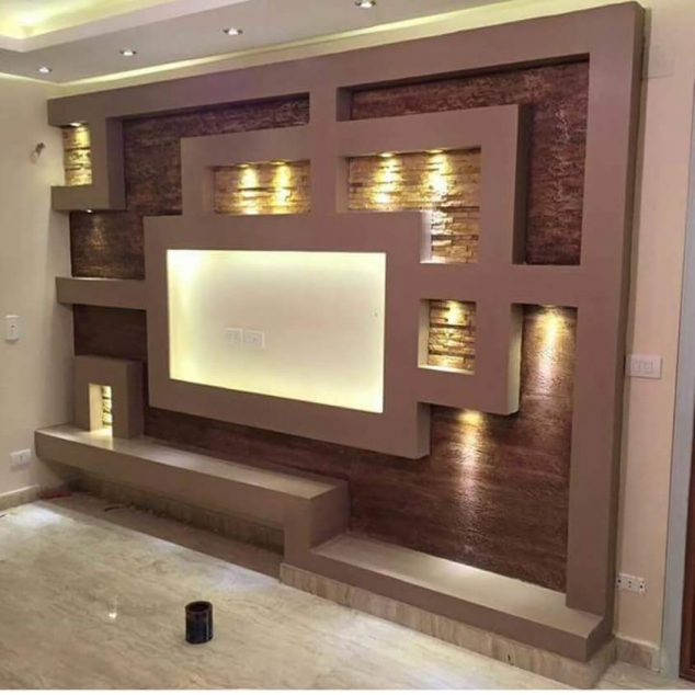 Tv wall unit decoration you need to check home interior Interior design tv wall units