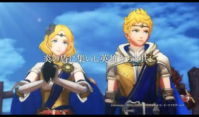 First Screenshot from Fire Emblem Heroes Trailer- Cecilia intro.