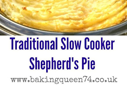 SLOW COOKER SHEPHERD'S PIE