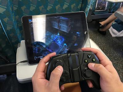 [開箱] CONTOUR iOS專用藍芽無線手遊電競手把 射擊遊戲還是要用搖桿比較好玩 IMG_5100