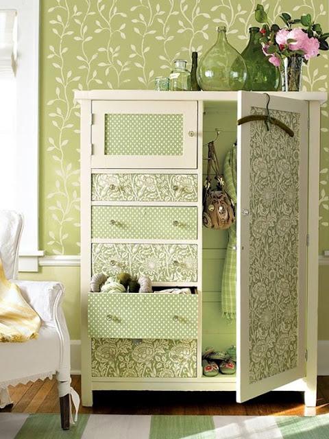 decoração-em-verde