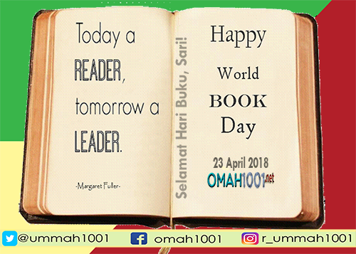 Selamat Hari Buku, Sari!, Omah1001.net