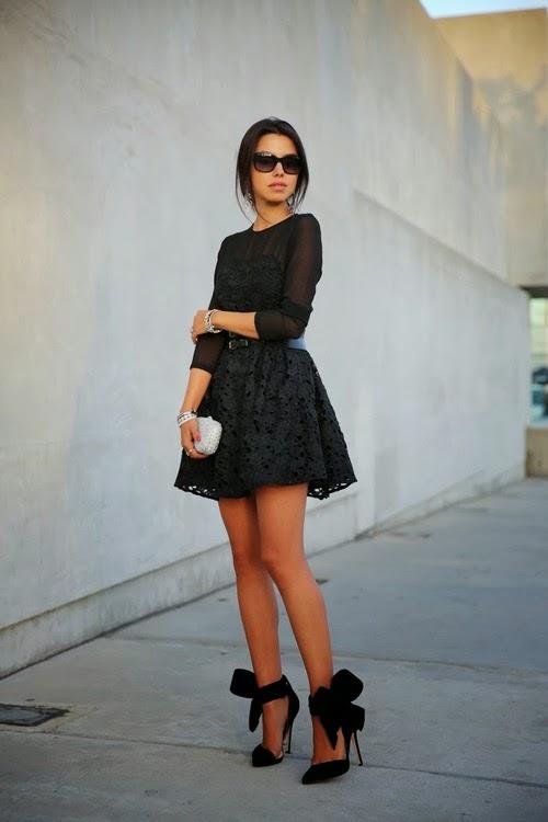 ชุดเดรสสีดำ