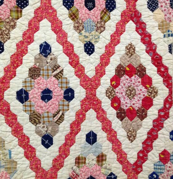 Cloud of Quilt Patterns: Tessellations: Hexagons 6---Diamond Field : hexagon patterns for quilts - Adamdwight.com