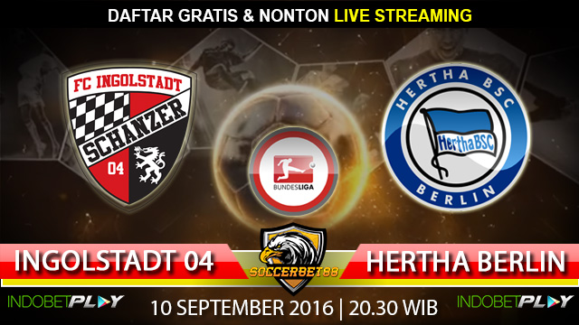Prediksi Ingolstadt 04 vs Hertha Berlin 10 September 2016 (Liga Jerman)