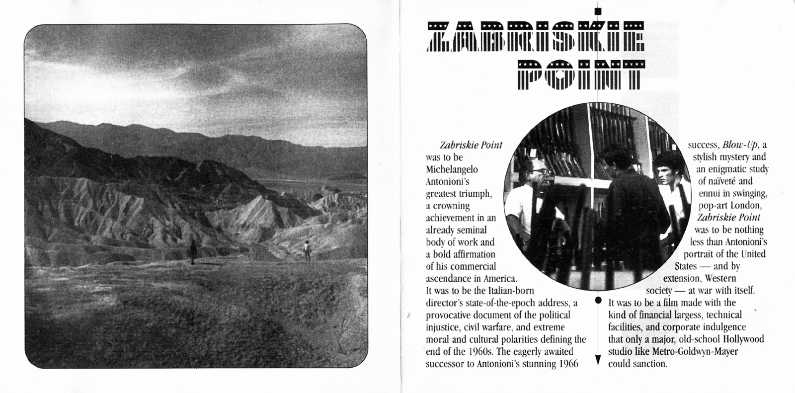 Pink Floyd Ilustrado Zabriskie Point Original Motion