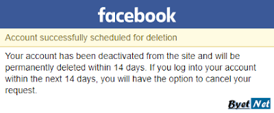 facebook-account-deleted-successfully