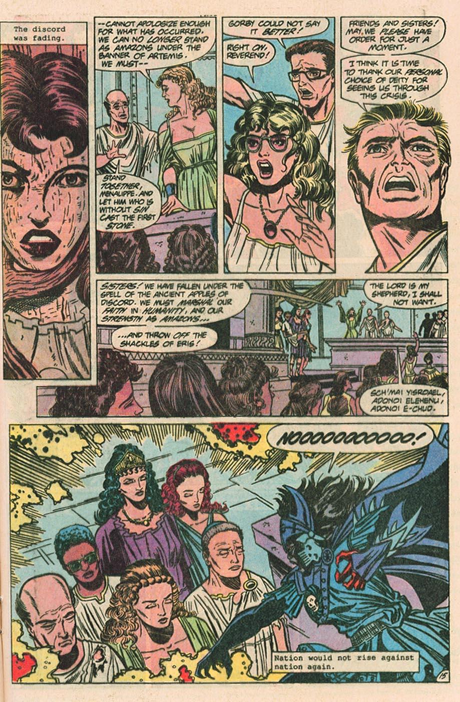 Read online Wonder Woman (1987) comic -  Issue #40 - 17