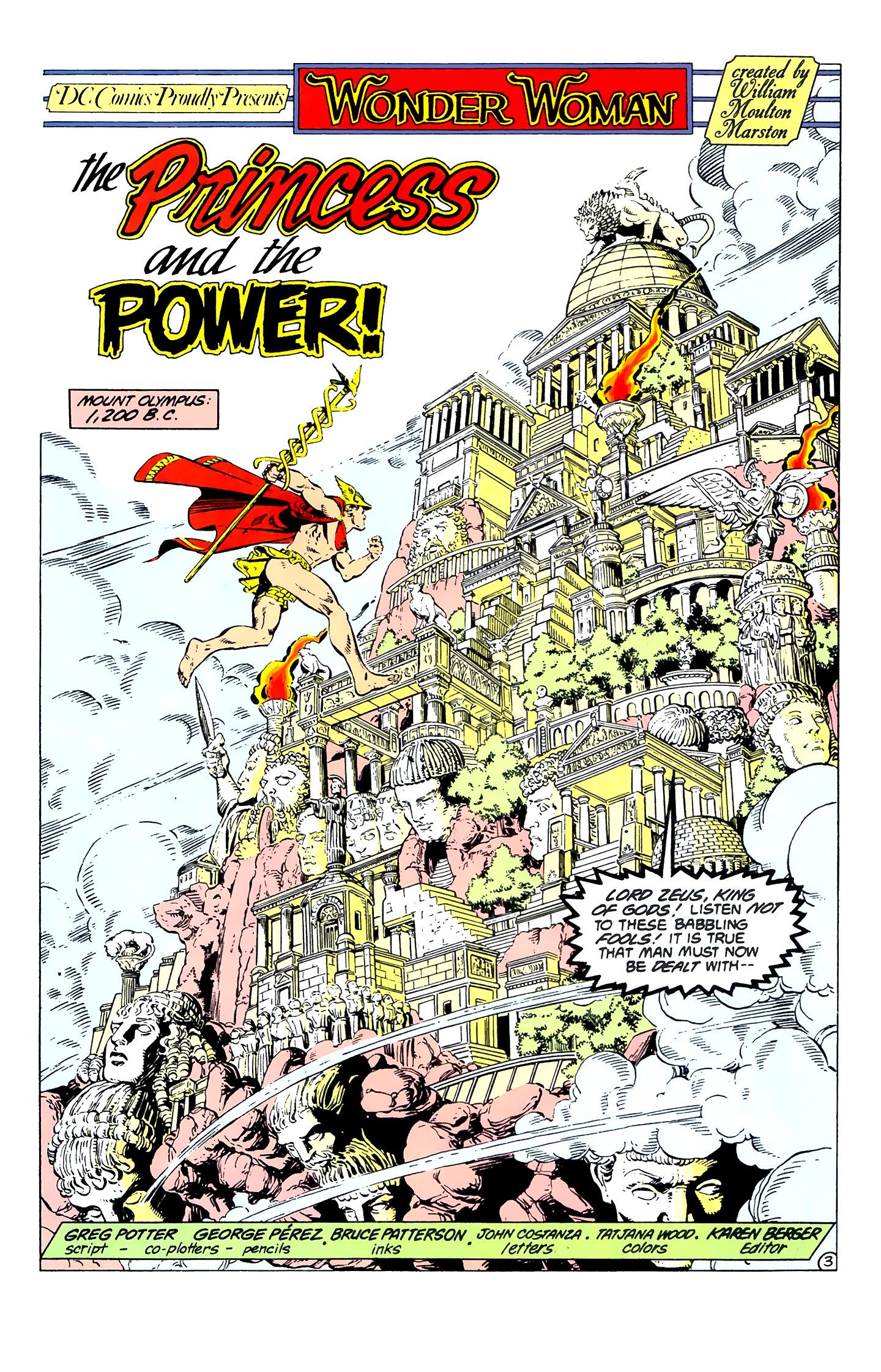 Read online Wonder Woman (1987) comic -  Issue #1 - 5