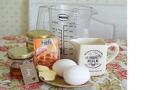 Erdnussbutter Gugelhupf Rezept für Hunde