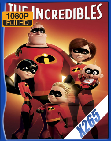 The Incredibles [2004] [Latino] [1080P] [X265] [10Bits][ChrisHD]