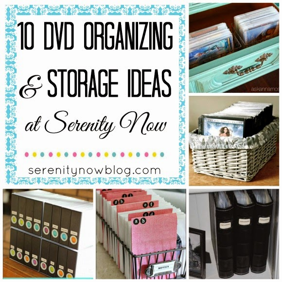 10 Ways to Organize & Store Your DVD Collection! from Serenity Now