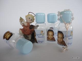 Garrafinhas Personalizadas para água benta