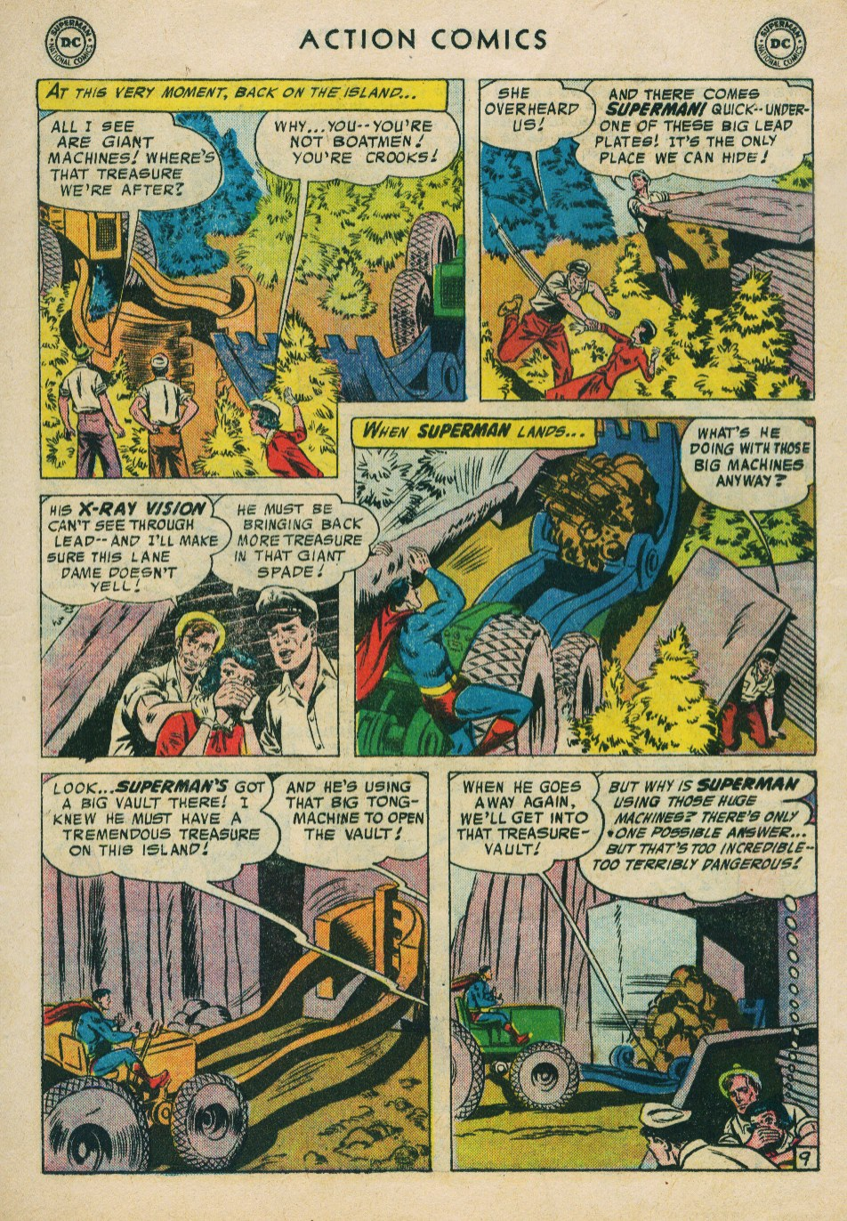 Read online Action Comics (1938) comic -  Issue #224 - 11