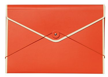 Orange File Folder from Paper Source