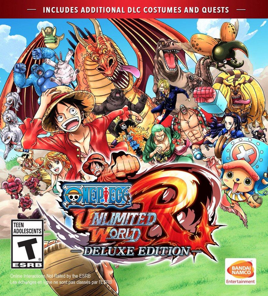 téléchargement gratuit ONE PIECE: UNLIMITED WORLD RED - DELUXE EDITION jeu  complet PC