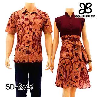 Baju Batik Couple Cantik Mei Model Baju Batik