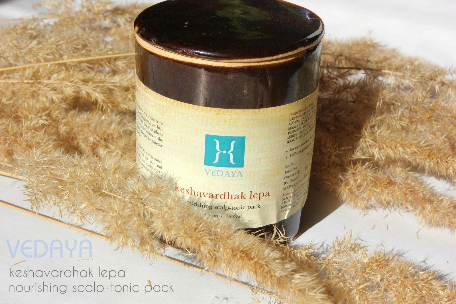 Отзыв: Красота по-индийски. Питательный тоник для головы - стимулятор роста волос. VEDAYA Nourishing scalp-tonic pack (Keshavardhak lepa).