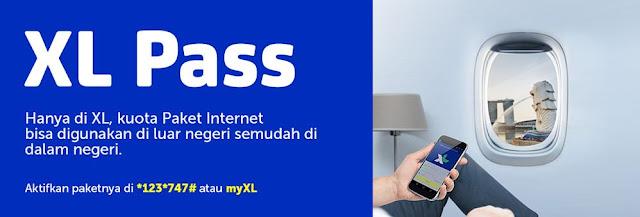 Cara Internetan Di Luar Negeri, XL PASS