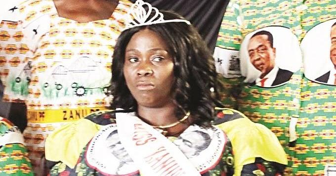 MISS ZANU PF CROWNED