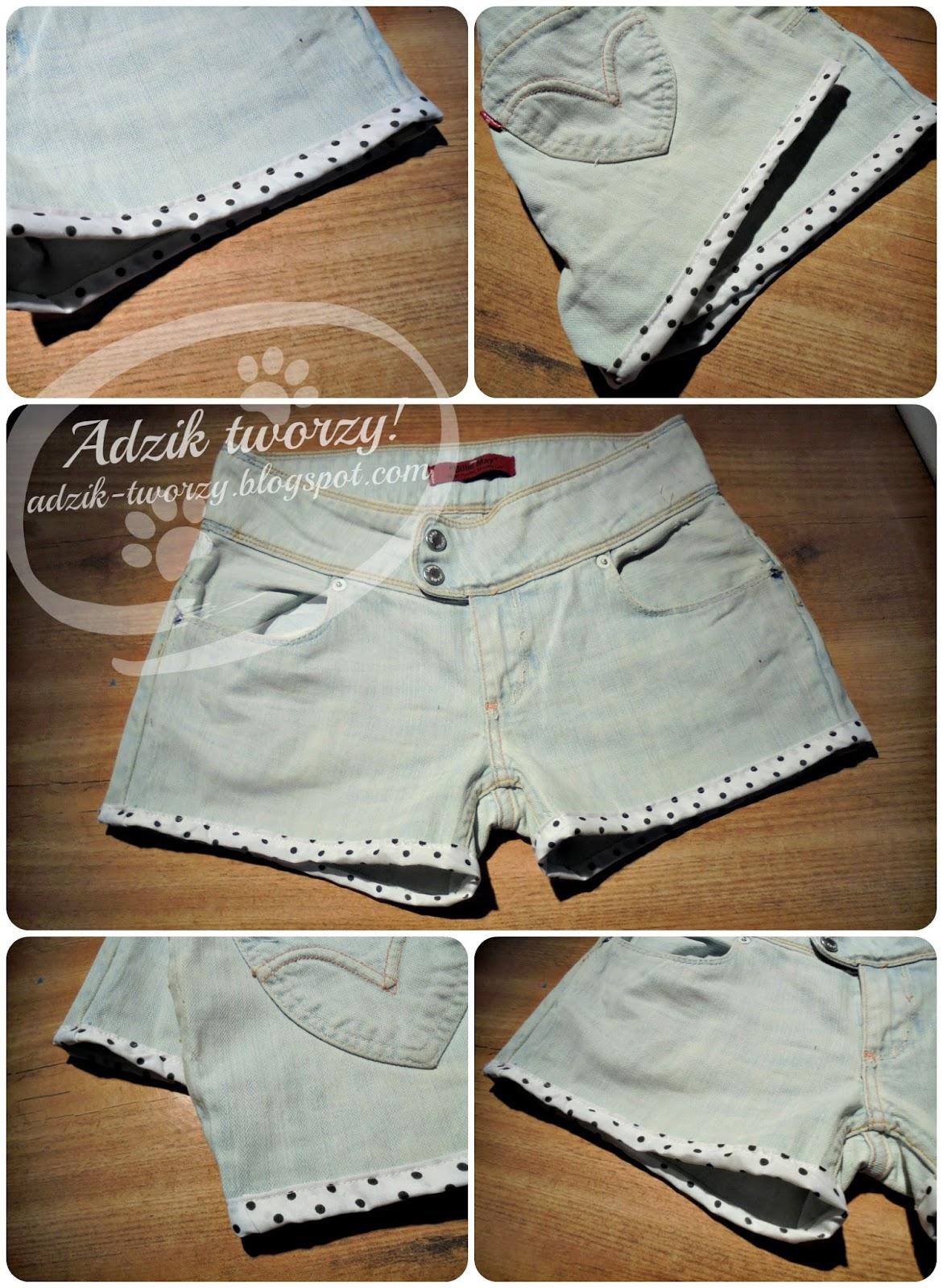 DIY: Krótkie spodenki ze starych jeansów sprawdź jak