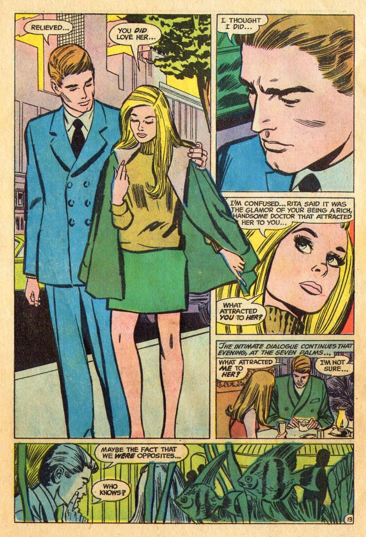 Read online Secret Hearts comic -  Issue #136 - 30