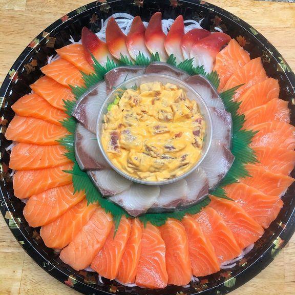 Salmon HQ sushi platter