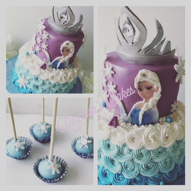 Baking With Roxanas Cakes Birthday Cake Frozen Themed