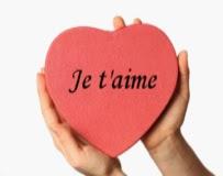 image de coeur et le mot je t'aime