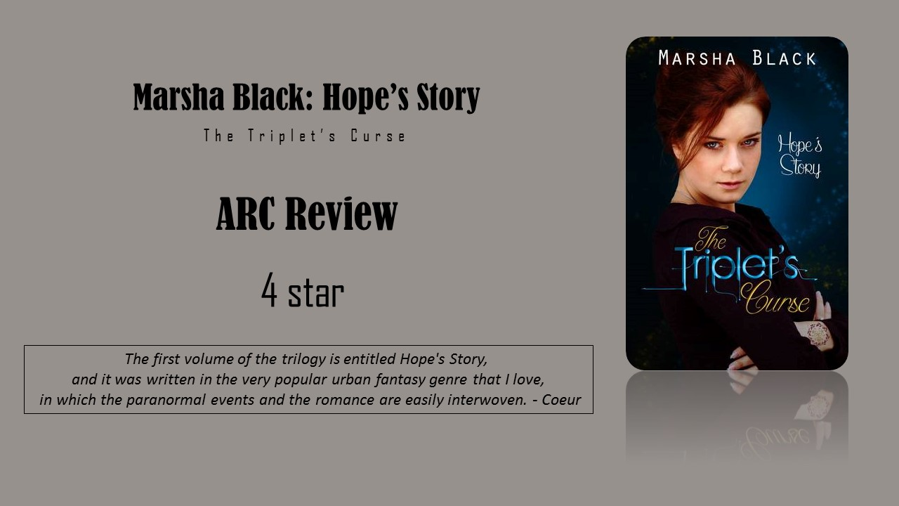 ARC Review + Interview - The Triple's Curse by Marsha Black