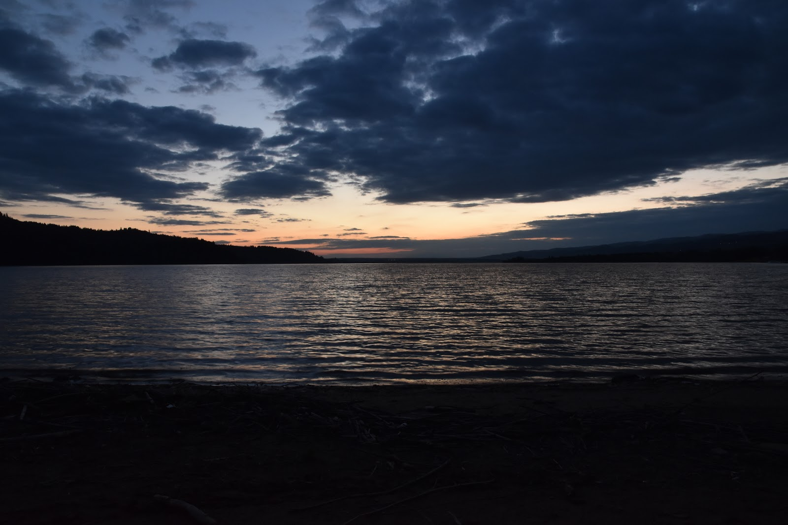 Czorstynské jezero Polsko