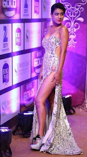 Zee Gold Awards 2016 – Side Boobs Cleavages Nude Boobs Sexy Gowns of T V Show Actress Nia Sharma and oThers HD Video