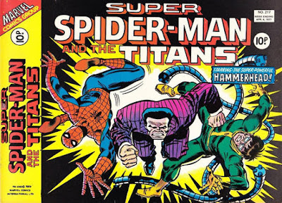 Super Spider-Man and the Titans #217, Hammerhead and Dr Octopus