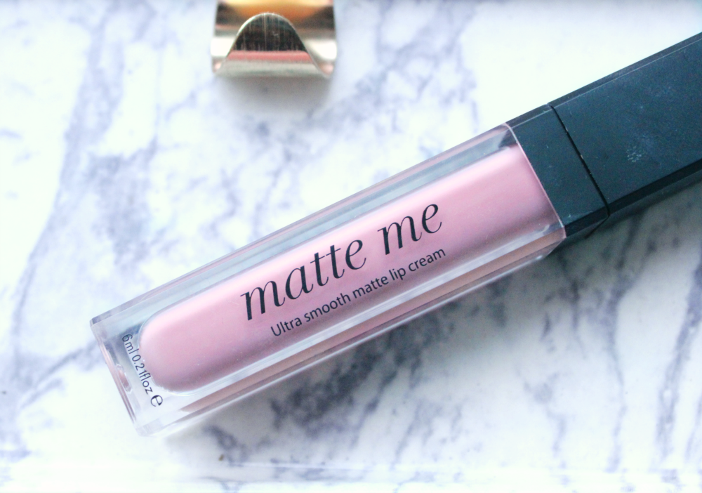 sleek matte me up in petal review and swatch
