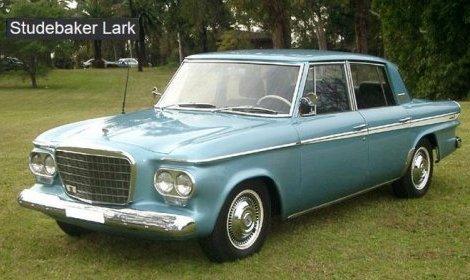 """My dad's 1963 Studebaker """"Lark"""" in 1969"""