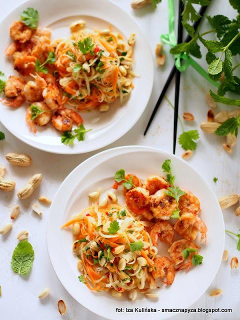 salatka afrodyty, romantyczna kolacja, kolacja dla dwojga, kuchnia milosci, love&food pairing, laczenie smakow, afrodyzjaki