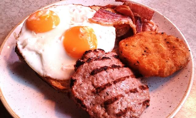 Gramercy Bistro, Prahran, eggs and bacon