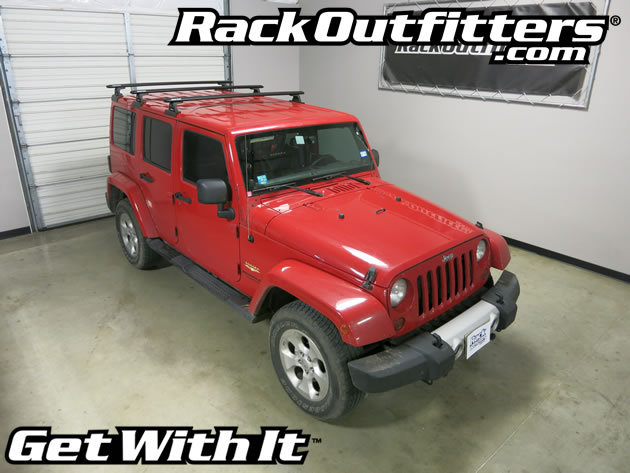 Jeep Wrangler Unlimited Rhino-Rack RLT600 3 Bar BackBone ...