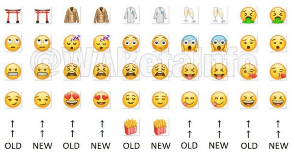 تحديث الواتساب الأخير يجلب 21 إيموجي جديد لمستخدمي الأندرويد