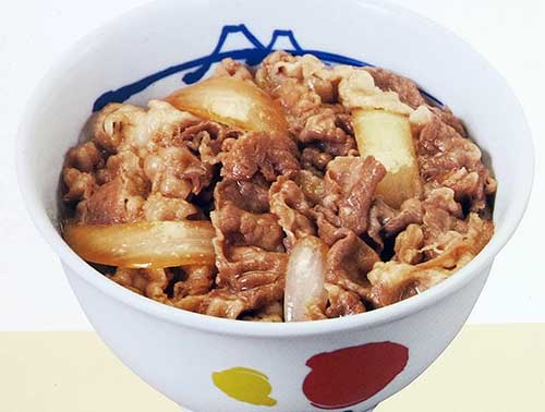 Gyudon at Matsuya.