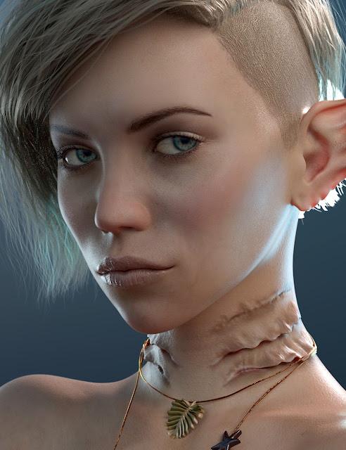 Naia HD for Genesis 8 Female