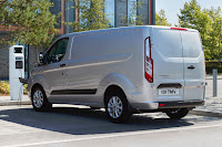 Ford Transit Custom PHEV (2019) Rear Side