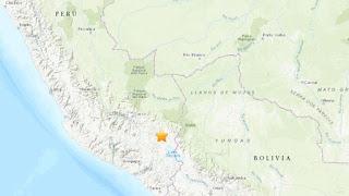 Um terremoto de magnitude 7,0 sacode o Peru