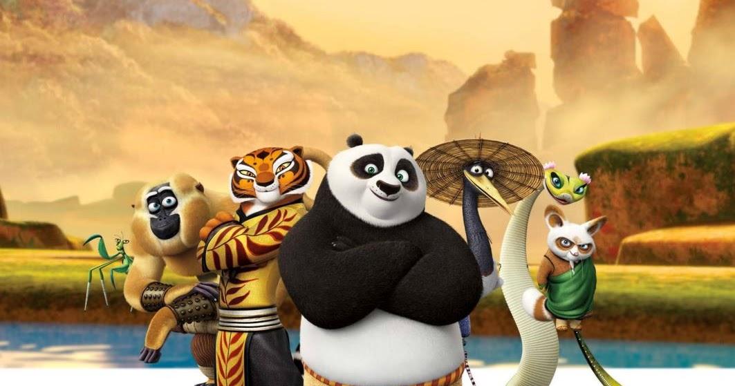 हॉलीवुड फिल्म कुंग फू पांडा 3 का पोस्टर