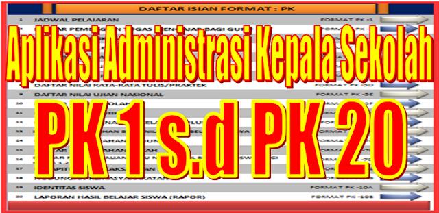 Aplikasi Administrasi Kepala Sekolah